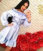 Стильное платье коттон, фото 2