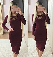 Женское шикарное красивое платье с украшением в расцветках