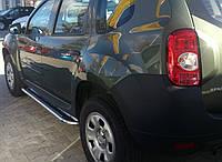 Боковые пороги (площадка, ступенька) Renault Duster Рено Дастер