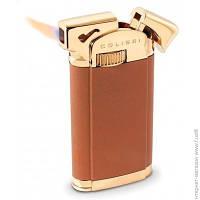 Зажигалка Colibri CONNAUGHT II, Матово-коричневый/Позолоченный для трубки (Co008813-ptr)