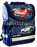 Ранец школьный ортопедический ZIBI TOP ZIP CITY CARS ZB16.0109СС, фото 1
