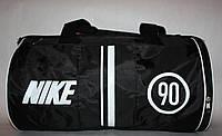 Спортивная дорожная сумка Nike черная белая