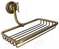 Бронзовая полочка - решетка в ванную Paccini&Saccardi Florence 30099