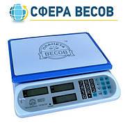Весы торговые ПВП-810 белые (40 кг)