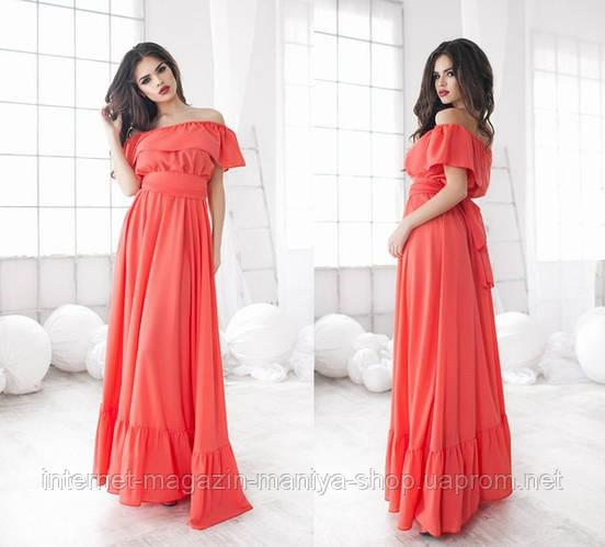 Женское платье креп в 5 расцветках