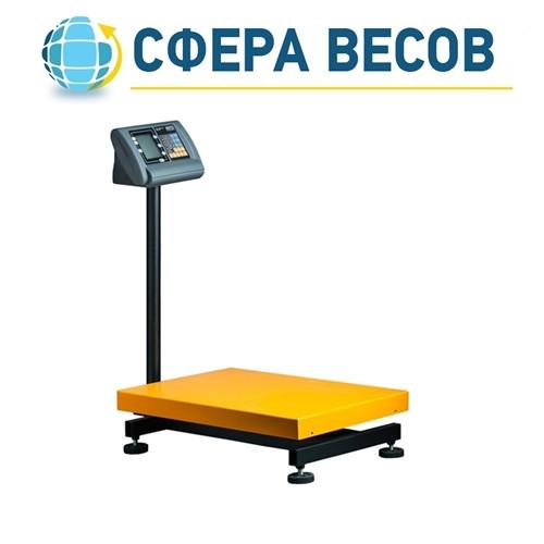 Весы товарные напольные усиленные (400кг - 450х600)