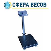 Весы товарные со стойкой ПВП-300K2 (300 кг - 400x500)