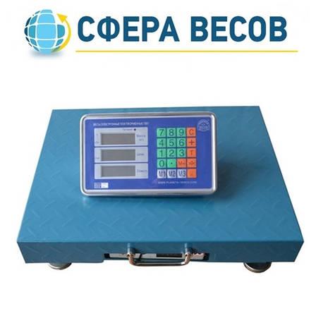Весы товарные беспроводные ПВП-300 (300 кг - 400x500), фото 2
