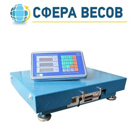 Весы товарные беспроводные  ПВП-500 (500 кг - 500x600), фото 2