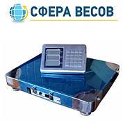 Весы товарные беспроводные  ПВП-600S (600 кг - 500x600)