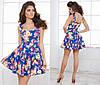 Женское платье коттон в разных расцветках, фото 2