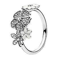 Кольцо из серебра Цветочное настроение