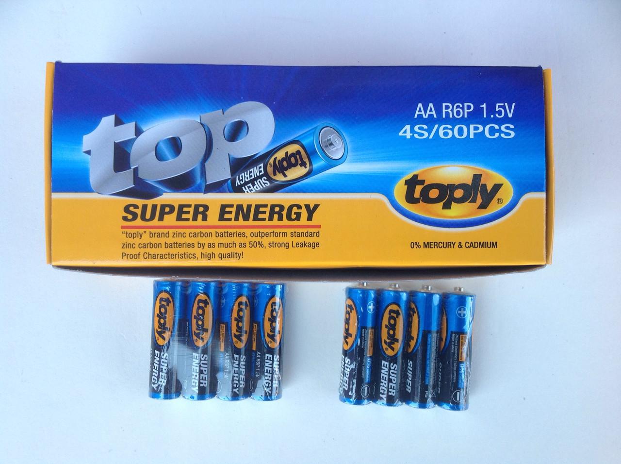 Батарейка «TOP» пальчик AA