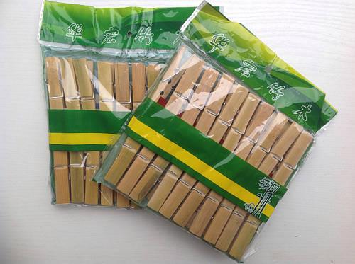 Прищепка бамбуковая
