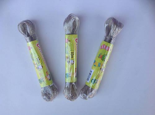 Веревка бельевая трос