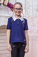 Школьная блузка для девочки sh12 (4 расцветки)