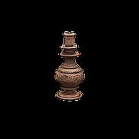 Подсвечник глиняный Шляхтянский AI0100 Покутская керамика