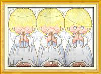 """Набор для вышивки крестом с печатью на ткани 14ст  """"Почти идеальный"""""""