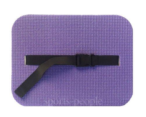 Сидушка туристическая с ремнем, фиолетовый (с фольгой), размер 390*285*12 см