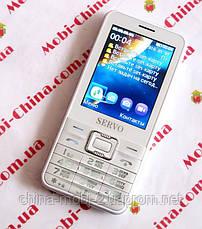 Телефон Servo V8100 -  4 sim, white, фото 2