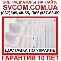 Панельные Радиаторы Отопления тип 11,22,33, Низ, Бок, 300 и 500 высота от Импортёра (Турция)