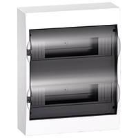 Щит навесной 24 модуля прозрачная дверь Easy9 EZ9E212S2S