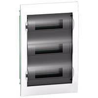 Щит встраиваемый 36 модулей прозрачная дверь Easy9 EZ9E312S2F