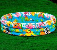 Детский надувной бассейн intex, Рыбки