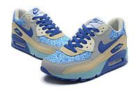 Женские кроссовки Nike Air Max 90 голубые, фото 1
