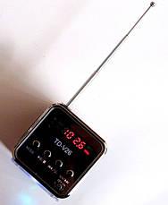 Портативна колонка динамік Mini Digital Speaker TD-V26 з FM-радіо і MP3, фото 2