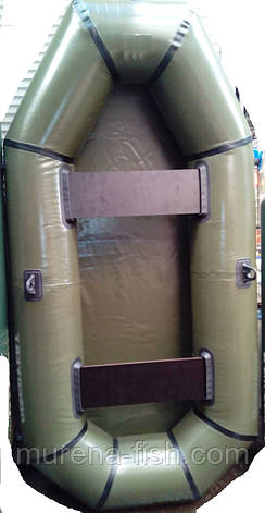 Лодка ПВХ Надувная гребная Омега гламур 2,1м (1.5-х местная), фото 2