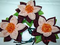 Цветок-подхват для штор и тюлей