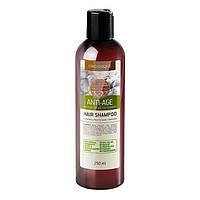 Антивозрастной шампунь для волос восстанавливающий, против выпадения волос, 250 мл