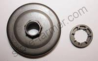 Корзина + кольцо RAPID для Husqvarna 51, 55 (с шагом 0.325) + подшипник