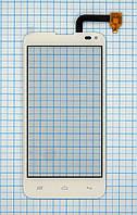 Тачскрин сенсорное стекло для Fly IQ4415 Quad Era Style 3 white
