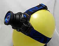 Фонарь налобный фокусируемый Bailong BL-6816 (Cree XP-G, 350 люмен)