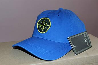 Мужская кепка Стоун Исланд синяя