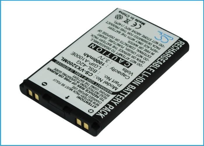 Аккумулятор для LG LG350 1000 mAh