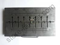 Мангал на 8 шампуров - 420х275х40 мм (8,70 кг)