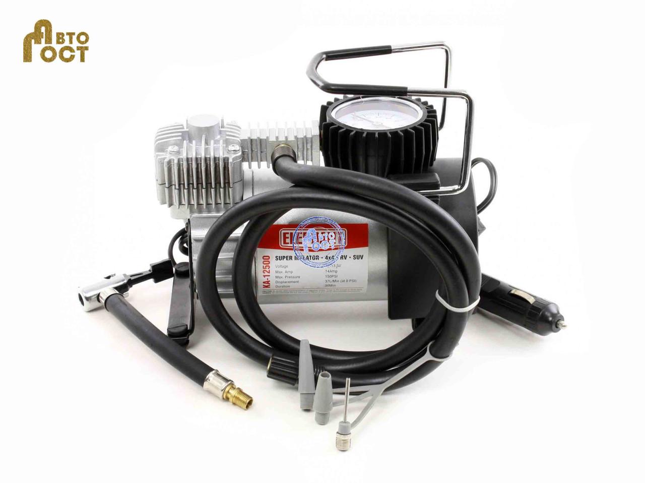 """Автомобильный компрессор Elephant КА-12500 - Интернет-магазин: """"АвтоГост"""" в Одессе"""