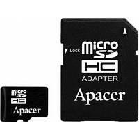 Карта памяти Apacer 16 GB microSDHC Class 10 UHS-I + SD adapter