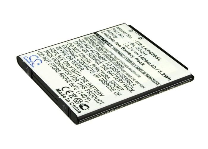 Аккумулятор для LG F160K 1400 mAh