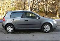 Дефлекторы боковых стекол VW Golf V 5d 2003-2008/Golf VI 5d 2008 (Фольксваген Гольф 5) Cobra Tuning