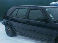 Дефлекторы боковых стекол VW Golf III 5d 1991-1998 (Фольксваген Гольф 3) Cobra Tuning