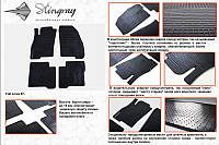 Автомобильные коврики Fiat Linea 07 (Фиат Линеа) (2 шт) передние, Stingray