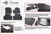 Автомобильные коврики Citroen C-crosser 07 (Ситроен) (2 шт) передние, Stingray