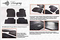 Автомобильные коврики Mitsubishi ASX 10 (Митсубиси) (2 шт) передние, Stingray