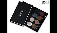 Набір тіней для брів (8 відтінків+пензлик в подарунок) Kodi