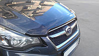 Мухобойка Subaru Impreza 2011-/ XV 2012-, темный (Субару Импреза) SIM