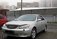 Дефлектор +на капот   TOYOTA CAMRY 2000-2003 (с вырезом) (Тойота Камри) SIM
